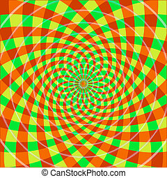 ilusão óptica, cyclic
