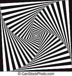 ilusão óptica, fundo