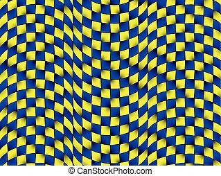 ilusão óptica, movimento