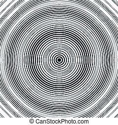 ilusão, óptico, moire, fundo