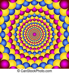 ilusión, óptico
