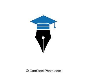 ilustração, caneta, vetorial, desenho, logotipo, ícone