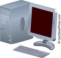 ilustração computador