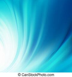 ilustração, de, água, swirling., eps, 8