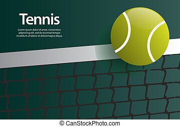 ilustração, tênis, fundo, modelo, vetorial, desenho, bola