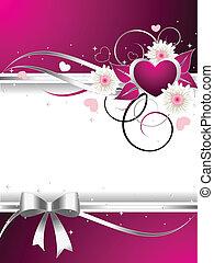 ilustração, valentine