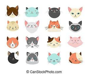 ilustrações, gatos, cobrança