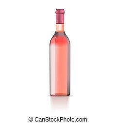 ilustración, botella