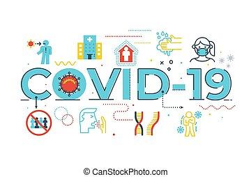 ilustración, covid-19