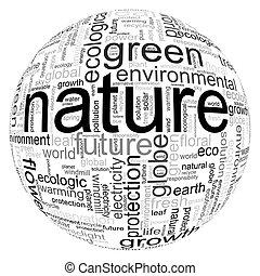 ilustración, naturaleza