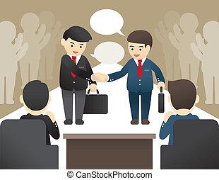 ilustración negocio