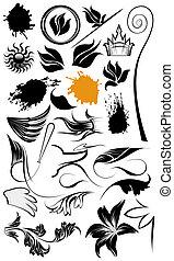 ilustraciones, ornamento