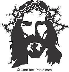ilustracja, jezus