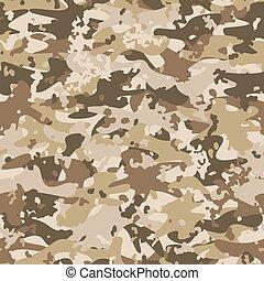 ilustracja, seamless, abstrakcyjny, wektor, pattern., kamuflaż, struktura, wojskowy, armia