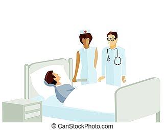 im Krankenhaus - Patient in hospital