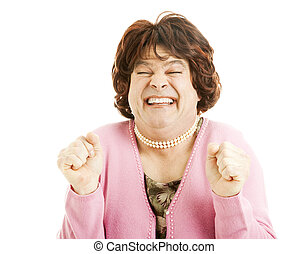 Im So Excited I Just Cant Hide It - Humorous picture of a...