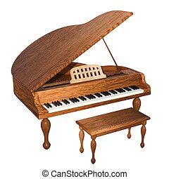 grand piano - imag of grand piano