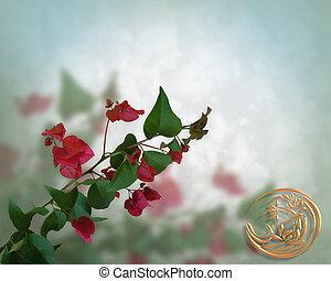 Floral Background Bougainvillea