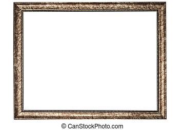 image, armature bois, fond, blanc, peinture, ou