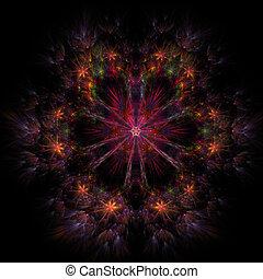 image, colorfully, résumé, fractal