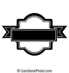 image, embellished, emblème, icône