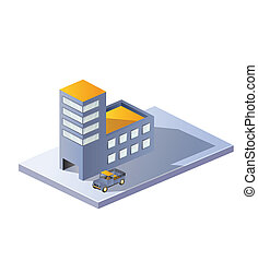 Image factory in isometric