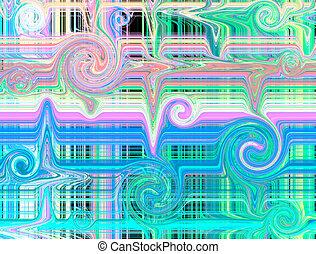 image, farverig