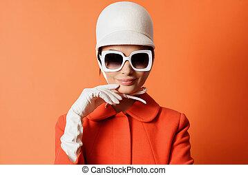 image, girl, 60s, classique
