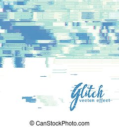 image glitch vector background