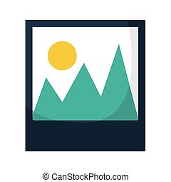 image icon on a white background