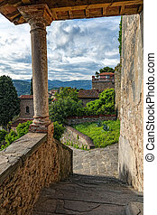 image), italy., (hdr, mittelalterlich