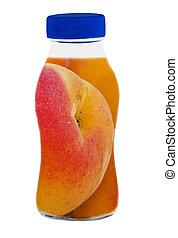 image, -, jus, fruits, conceptuel, frais