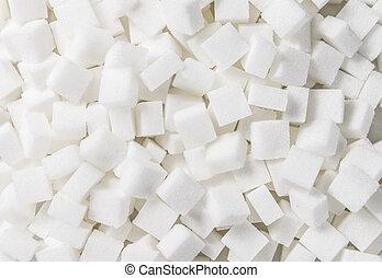 image), kuben, ram, socker, vit, (full