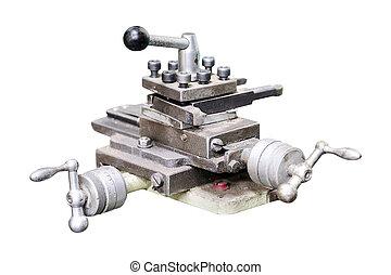 lathe machine - Image lathe machine in a workshop