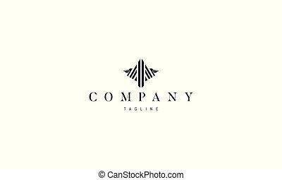 image, logo, vecteur, pelican., résumé