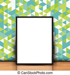image, mur, vide, contre, retro, penchant, 0704