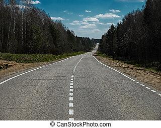 image, nulle part, autoroute