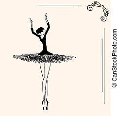 image of a ballerina