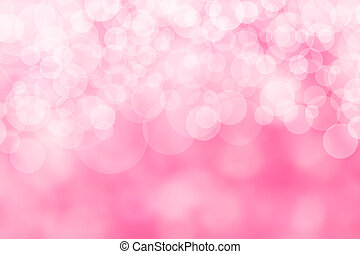 Image of a bright pink bokeh background