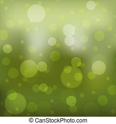Image of a colorful green bokeh background.
