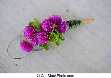 boutonniere - Image of a creatively designed boutonniere