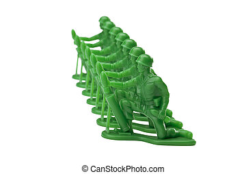 green military toy soldiers