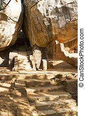 Sigiriya (Lion's Rock), Sri Lanka - Image of a path lthrough...