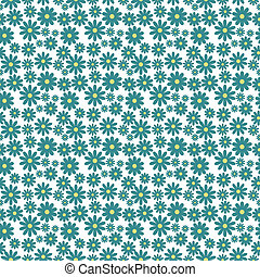 Image of a seamless flower background pattern.