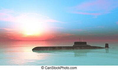 submarine - Image of a submarine.