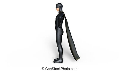 super hero - Image of a super hero.