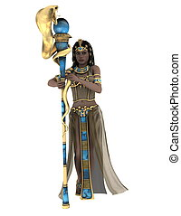 image of ancient Egyptian queen