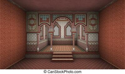 image of arabic style palace