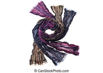 image of arranged scarf