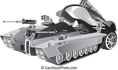 image of battle car